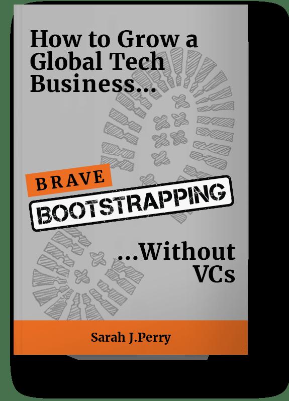 Bootstrap tech startup book